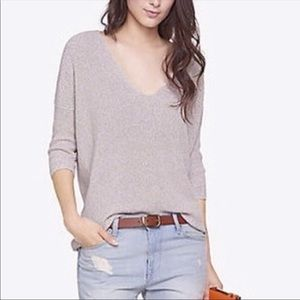 Express beige London sweater